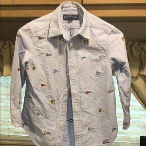 Little boys ralph lauren shirt